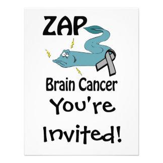 ZAP al cáncer de cerebro Invitaciones Personales