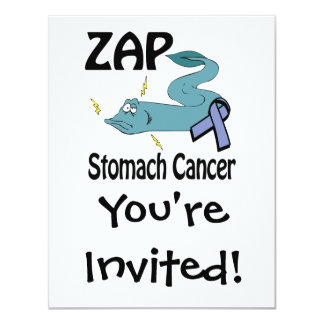 ZAP al cáncer de estómago Anuncio Personalizado