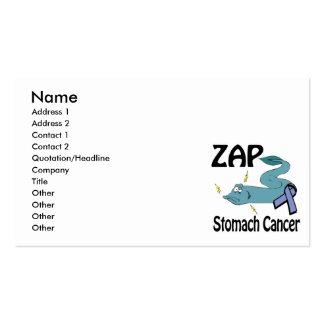 ZAP al cáncer de estómago Plantillas De Tarjetas Personales