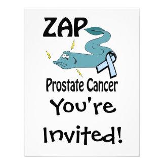 ZAP al cáncer de próstata Invitaciones Personales