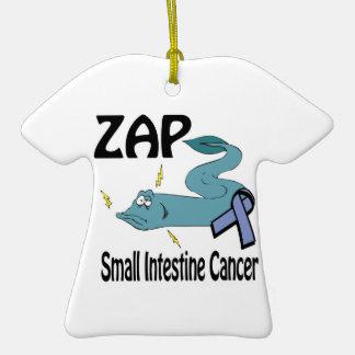 ZAP al cáncer del intestino delgado Ornamento De Navidad