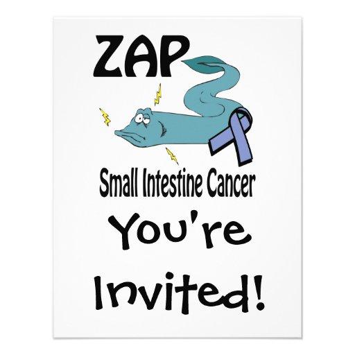 ZAP al cáncer del intestino delgado Invitaciones Personalizada