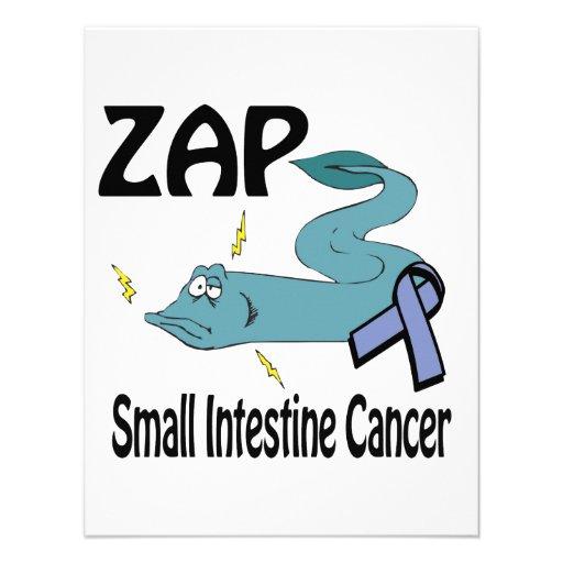 ZAP al cáncer del intestino delgado Invitación Personalizada