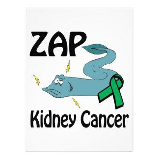ZAP al cáncer del riñón Invitacion Personalizada