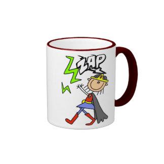 ZAP al héroe del chica Taza