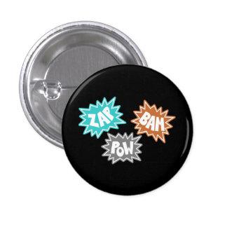ZAP al PRISIONERO DE GUERRA FX sano cómico - naran Pin Redondo 2,5 Cm