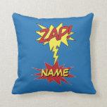 ¡ZAP! almohada de tiro de encargo