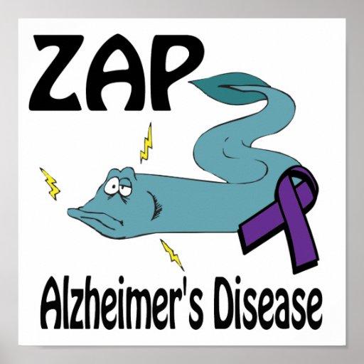 ZAP Alzheimers Disease Poster