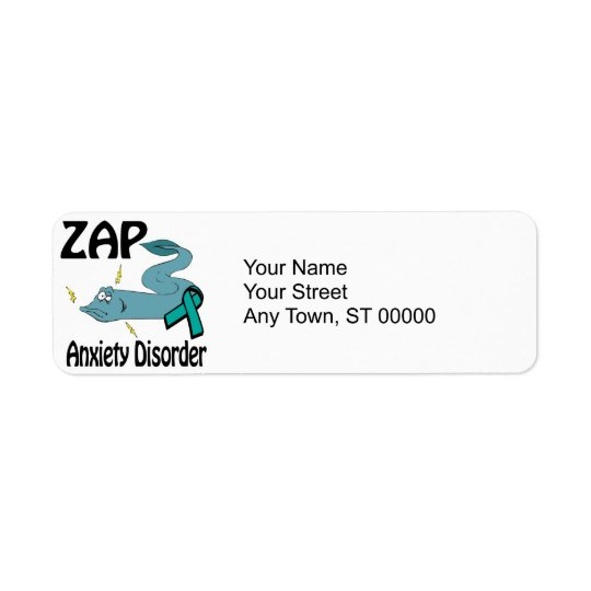 ZAP Anxiety Disorder Label