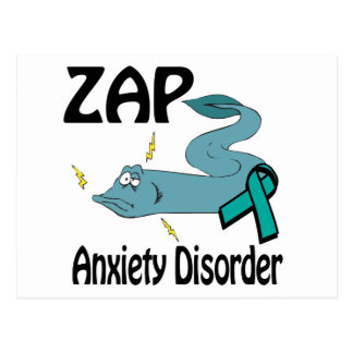 ZAP Anxiety Disorder Postcard