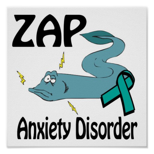 ZAP Anxiety Disorder Poster