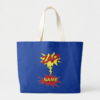 ¡ZAP! bolso de encargo - elija el estilo y el colo Bolsa De Tela Grande