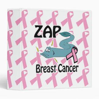 zap breast cancer awarness notebook 3 ring binder