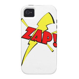 Zap, cartoon sfx vibe iPhone 4 cases