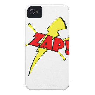 Zap, cartoon sfx iPhone 4 covers