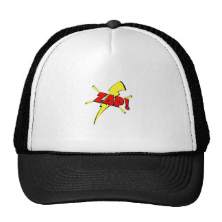Zap, cartoon sfx trucker hat