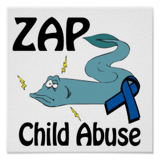 ZAP Child Abuse Print