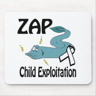 ZAP Child Exploitation Mouse Mat