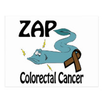 ZAP Colorectal Cancer Postcard