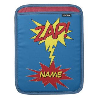ZAP! custom iPad sleeve