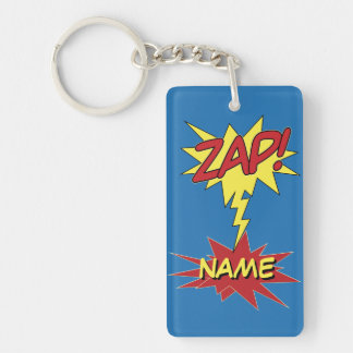ZAP! custom key chain