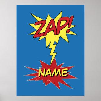 ZAP! custom poster