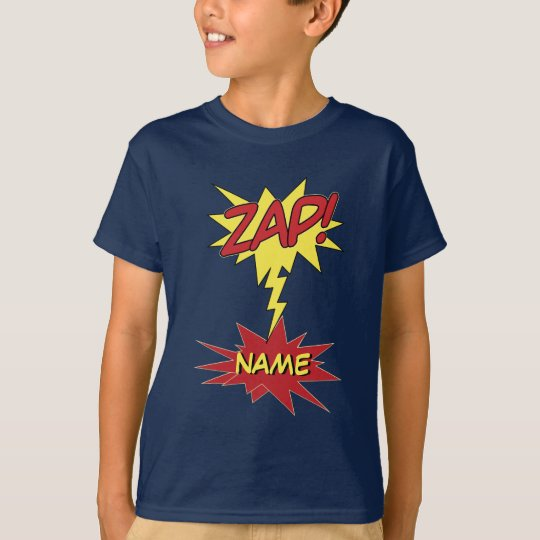 ZAP! custom shirt - choose style & color