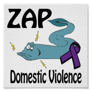 ZAP Domestic Violence Poster