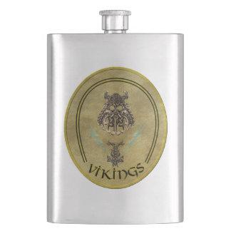 ZaP el frasco del pelotón de Vikingos Petaca