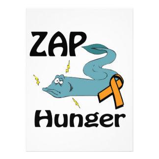 ZAP el hambre Invitación