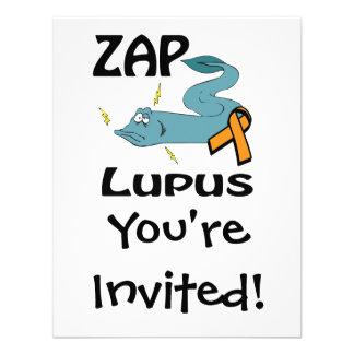 ZAP el lupus (el naranja) Invitacion Personal