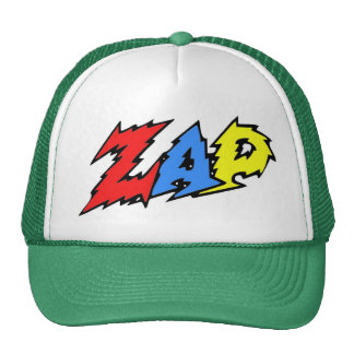 ZAP el rojo el amarillo y el azul del gorra