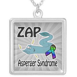 ZAP el síndrome de Asperger Colgante Cuadrado
