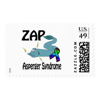 ZAP el síndrome de Asperger Sellos