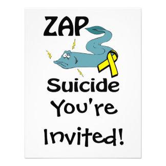 ZAP el suicidio Anuncio