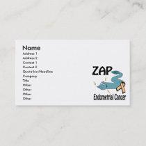 ZAP Endometrial Cancer Business Card