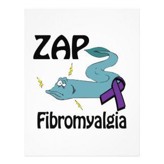 """ZAP Fibromyalgia 8.5"""" X 11"""" Flyer"""