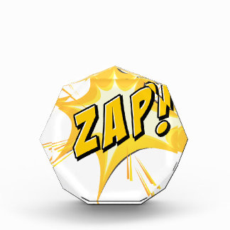 Zap flash on white awards