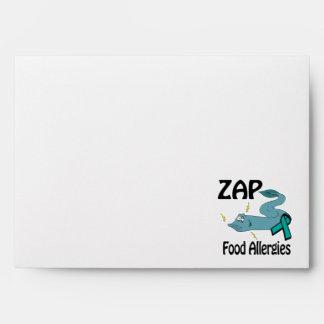 ZAP Food Allergies Envelope