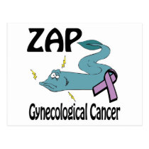 ZAP Gynecological Cancer Postcard