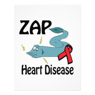 """ZAP Heart Disease 8.5"""" X 11"""" Flyer"""