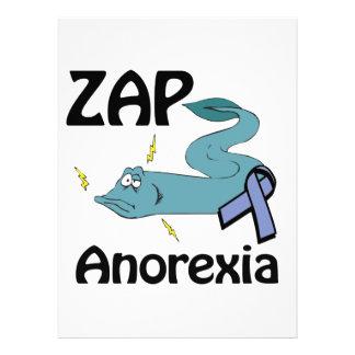ZAP la anorexia Invitacion Personalizada