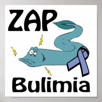 ZAP la bulimia Póster