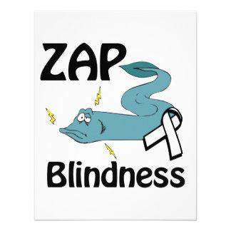 ZAP la ceguera Invitación Personalizada