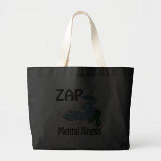 ZAP la enfermedad mental Bolsas De Mano