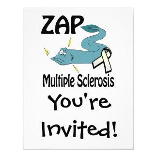 ZAP la esclerosis múltiple Invitaciones Personales