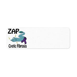 ZAP la fibrosis quística Etiqueta De Remite