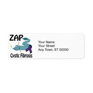 ZAP la fibrosis quística Etiqueta De Remitente