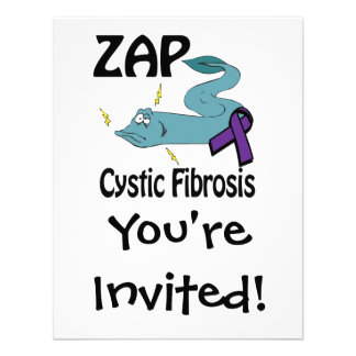 ZAP la fibrosis quística Anuncio Personalizado