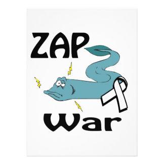 ZAP la guerra Invitaciones Personalizada